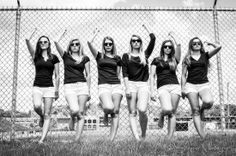 Super Seniors. Cute Senior Pictures or Volleyball Team?