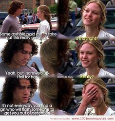 10 things i hate about you quotes - Google Search