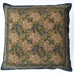 Kalamkari Cushion Cover 60cm x 60cm Design 3