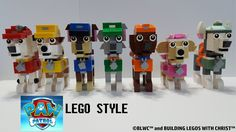 Building Legos with Christ: Paw Patrol LEGO® Style