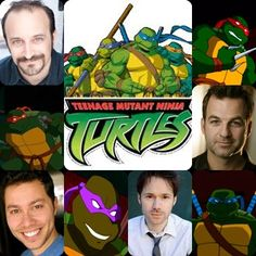 TMNT - 2k3 - Voice Actors and Characters by ririmania1335.deviantart.com on @DeviantArt