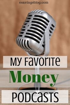 I love listening to podcasts and these personal finance podcasts are the best. #podcasts