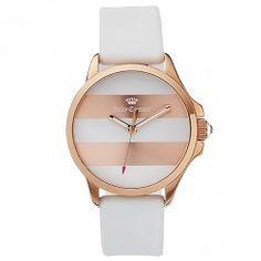 1ca0d6c3954 Relógio Juicy Couture Feminino Borracha Branca - 1901346 Relogio Branco