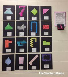 Fourth Grade Studio: Learning, Thinking, Creating: area