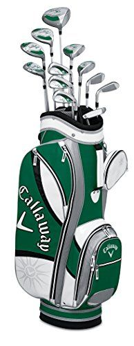 Callaway Women's Solaire Gems Golf Complete Set (Quartz), Right, Ladies, Graphite Mens Golf Clubs, Ladies Golf Clubs, Golf Club Reviews, Golf Basics, Golf Club Sets, Perfect Golf, Callaway Golf, Golf Gifts, Golf Fashion