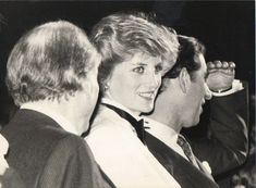 February 29, 1984: Prince Charles and Princess Diana attend a Genesis Concert at the National Exhibition Centre in Birmingham.