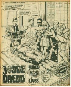 """c bolland (""""Judge Death Lives"""", Rap, Crime, Death, Creatures, Wraps, Crime Comics, Rap Music"""