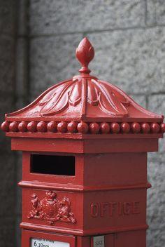 post box - For Glen