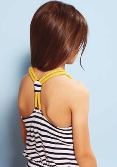 Finger in the Nose kidswear, the bare shoulder is a look I've seen a lot for girls fashion summer 2013! This is really CUTE.