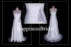 2013 New Arrival A-line Sweep Train Sweetheart Beading Fashion White Chiffon Bridesmaid Dress Prom Dress Evening Dress Party Dress