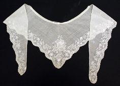 18th c British cotton fichu