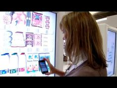 Tesco's Interactive Virtual Grocery Store In Gatwick Airport's North Terminal