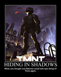 TMNT Raph Motivational Poster by ChildofAura.deviantart.com on @deviantART