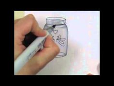 Coloring Glass Copic Tutorial by Jen Shults - I have only managed to watch colouring the glass so far, but boy, does it bring it to life!  Very talented lady - must watch the rest of it!!!