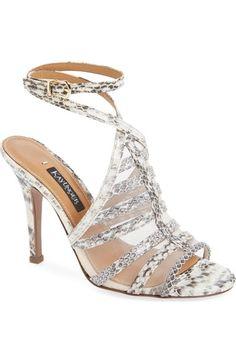 9b621ee2d1 Vince Camuto 'Sandria' Peep Toe Ghillie Sandal (Women) (Nordstrom  Exclusive) | Nordstrom
