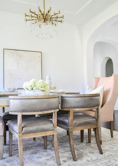 0db05cd56d7 Elegant Dining Room Reveal - Transitional + Stylish