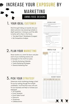 Business Plan Template Discover Increase Your Exposure by Marketing Ultimate Business Planner 253 Printable Pages Plan Marketing, Social Media Marketing Business, Social Media Tips, Content Marketing, Marketing Strategies, Digital Marketing, Business Education, Internet Marketing, Marketing Branding