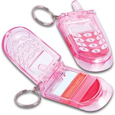 Cell Phone Lip Gloss Keychain loveeeed these