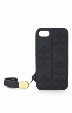BCBG Studded iPhone Case. Edgy and with wrist strap. #musthave