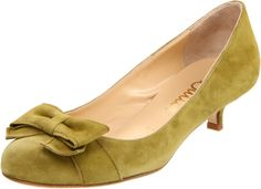 My wedding shoes- acid green suede!