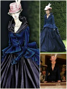 Anna Karenina (2012) by Joe Wright and costume design by Katie Spencer worn by Keira Knightley as Anna - Oscar for best achievement in Costume Design