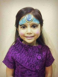 Jasmine face paint