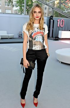 LOVE everything from Cara's outfit