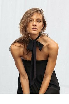 sneakers and pearls, black chiffon bow choker, trending now.jpg