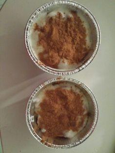Dolcetto light. Yogurt magro/crusca /cannella