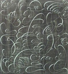 calligraphic swirls -oh!!!! My swirls don't look like that!  Having swirl envy!!