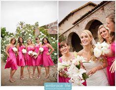 San Juan Capistrano Wedding Photography, bridesmaids, bridesmaid poses, bride and bridesmaids together