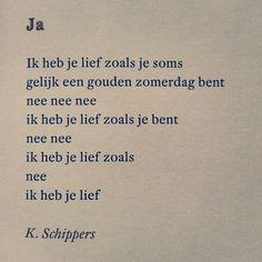 """""""Ja""""  K. Schippers"""