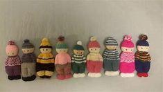 Resultado de imagen de Comfort Dolls Knitting Patterns Loom Knitting Projects, Yarn Projects, Baby Knitting Patterns, Doll Patterns, Crochet Patterns, Knitted Dude Dolls, Knitted Bunnies, Knitted Animals, Yarn Dolls