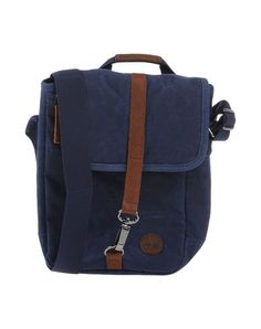 TIMBERLAND Across-body bag. #timberland #bags #shoulder bags #hand bags #canvas #leather #cotton #