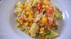 Mes Julie gourmandises: Salade de boulgour