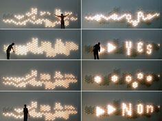 Light Brix interactive graffiti lighting