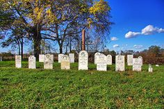 Field Cemetery by Amanda Anger - Located literally by the side of the road on the River Line in Harwich Township in Ontario, Canada. It was in use between 1850 and 1890.