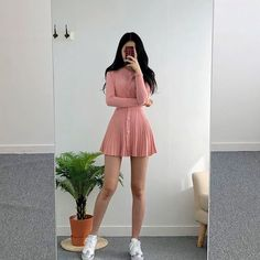 78 cute hipster outfits for girls that will fascinate you 7 Hipster Outfits, Teen Fashion Outfits, Korean Outfits, Mode Outfits, Girly Outfits, Cute Casual Outfits, Cute Fashion, Stylish Outfits, Fashion Dresses