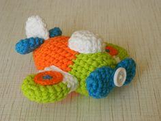 Amigurumi airplane soft crochet baby boy toy  Baby от UAmadeForYou