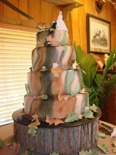 camouflage wedding cakes | The Complex Design of Camouflage Wedding Cakes | Wedding Planning