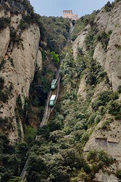 Cremallera de la Muntanya de Montserrat - Catalunya.