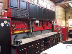 The 12-Gauge Garage - Page 80 - The Garage Journal Board Garage, ideas, man cave, workshop, organization, organize, home, house, indoor, storage, woodwork, design, tool, mechanic, auto, shelving, car.