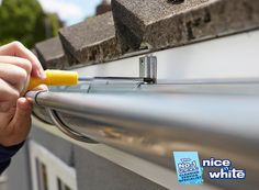 One of the most common problems faced with faulty gutter system is the overflow. So replace your #gutter with your old one. If you want to complete this work by hire the best professionals then must hire Nice N White (http://bit.ly/2eTAngP) This is the best company of #gutterreplacementserviceinNottingham  Follow @nicenwhite