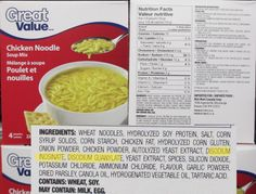 Are processed foods killing your BRAIN! natural flavor is msg, mono is msg, monosodiumglutamate a neurotoxin causes autism dementia brain tumors all brain disease.. AND keeps you wanting more and more.... Stop the INsanity...