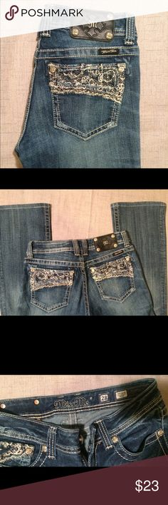 """Miss Me Boot cut  jeans Size 28 Miss Me bootcut jeans size 28 with 31 """" inseam. Great condition Miss Me Jeans Boot Cut"""
