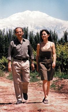 Catena Zapata Winery. Father-daughter winemakers Laura and Nicolas Catena are dedicated to promoting Argentine wine.