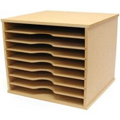 Kaisercraft Beyond The Page MDF Scrapbooking Paper Storage Unit *** Details can be found by clicking on the image. (This is an affiliate link) Art Storage, Craft Room Storage, Tool Storage, Storage Rack, Storage Ideas, Puzzle Storage, Craft Rooms, Storage Shelves, Storage Solutions