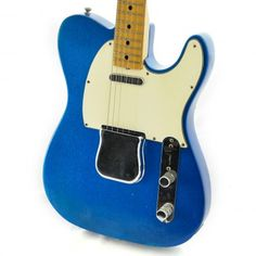 Fender Telecaster Blue Sparkle Maple Fretboard 1969 - Chicago Music Exchange