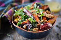 Roasted Beet & Carrot Salad with Honey Thyme Vinaigrette (+ Steamboat Springs Recap) |