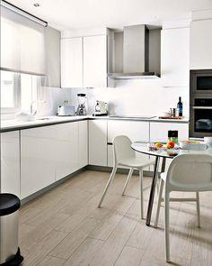 White Kitchen Light Wood Floors pinterest • the world's catalog of ideas